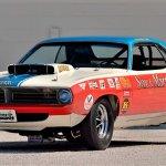 1970 PLYMOUTH HEMI CUDA SOX MARTIN DRAG CAR