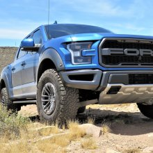 2019 Ford Raptor romps off road, while still remaining civilized
