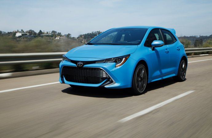 Driven: Corolla's new hatchback is haute, but not hot