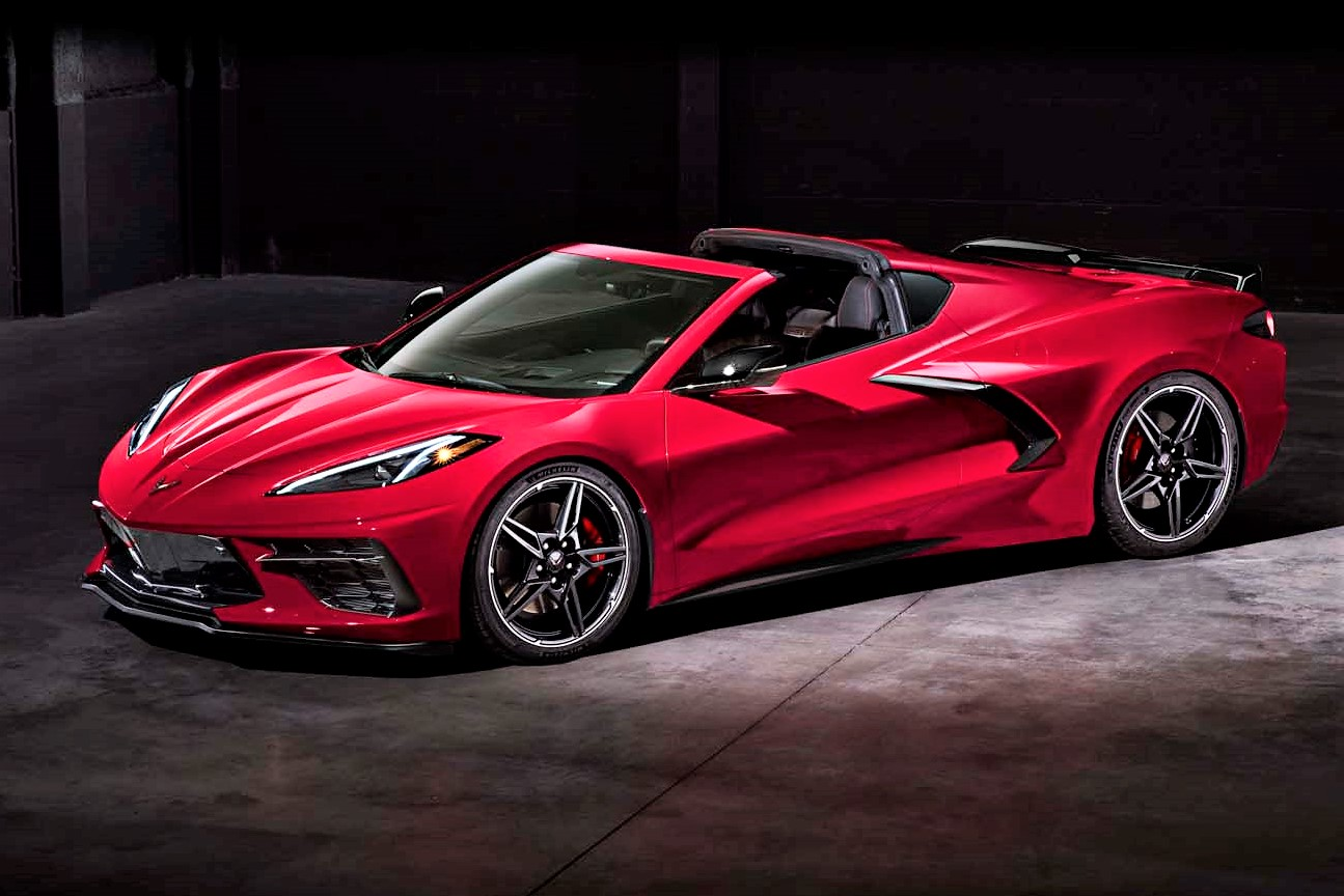 Convertible top is ready to drop for new mid-engine Corvette