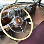 41 Cadillac sedanette dash
