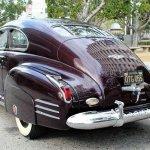 41 Cadillac sedanette rear