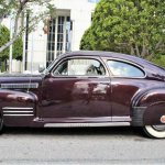 41 Cadillac sedanette side