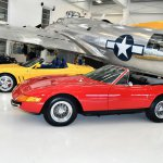 71 Ferrari 365 GTB4 Daytona-2001 550 Barchetta #6584-Howard Koby photo