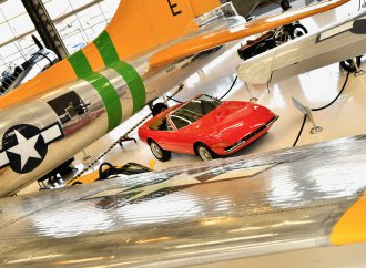 'Celebrazione Ferrari' at the Lyon Air Museum