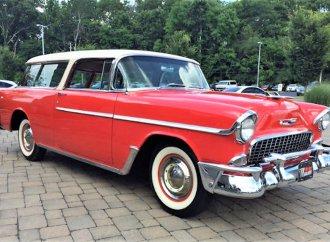 Original sport wagon: '55 Chevy Nomad restored to factory spec