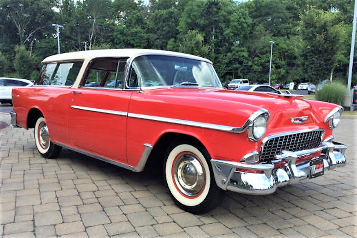 Original sport wagon: '55 Chevy Nomad restored to factory