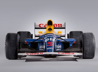 Mansell-raced Williams sells for $3.39 million at Bonhams