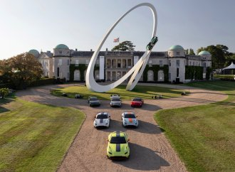 Goodwood's gravity-defying sculptures