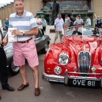 Beaulieu's Phil Johnson presents People's Choice runner up Paul Whitfield with his prize