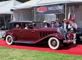 1933 Chrysler Imperial LeBaron CL takes Best of Show at Hillsborough