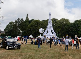 Citroen stages its centennial car show