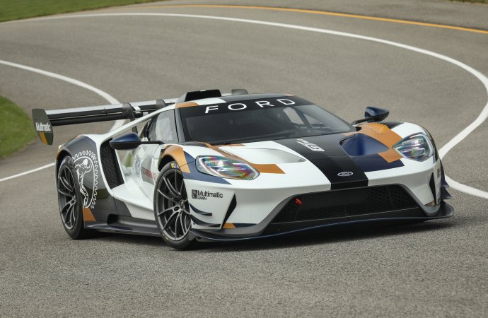 Ford unveils next chapter in GT story at Goodwood