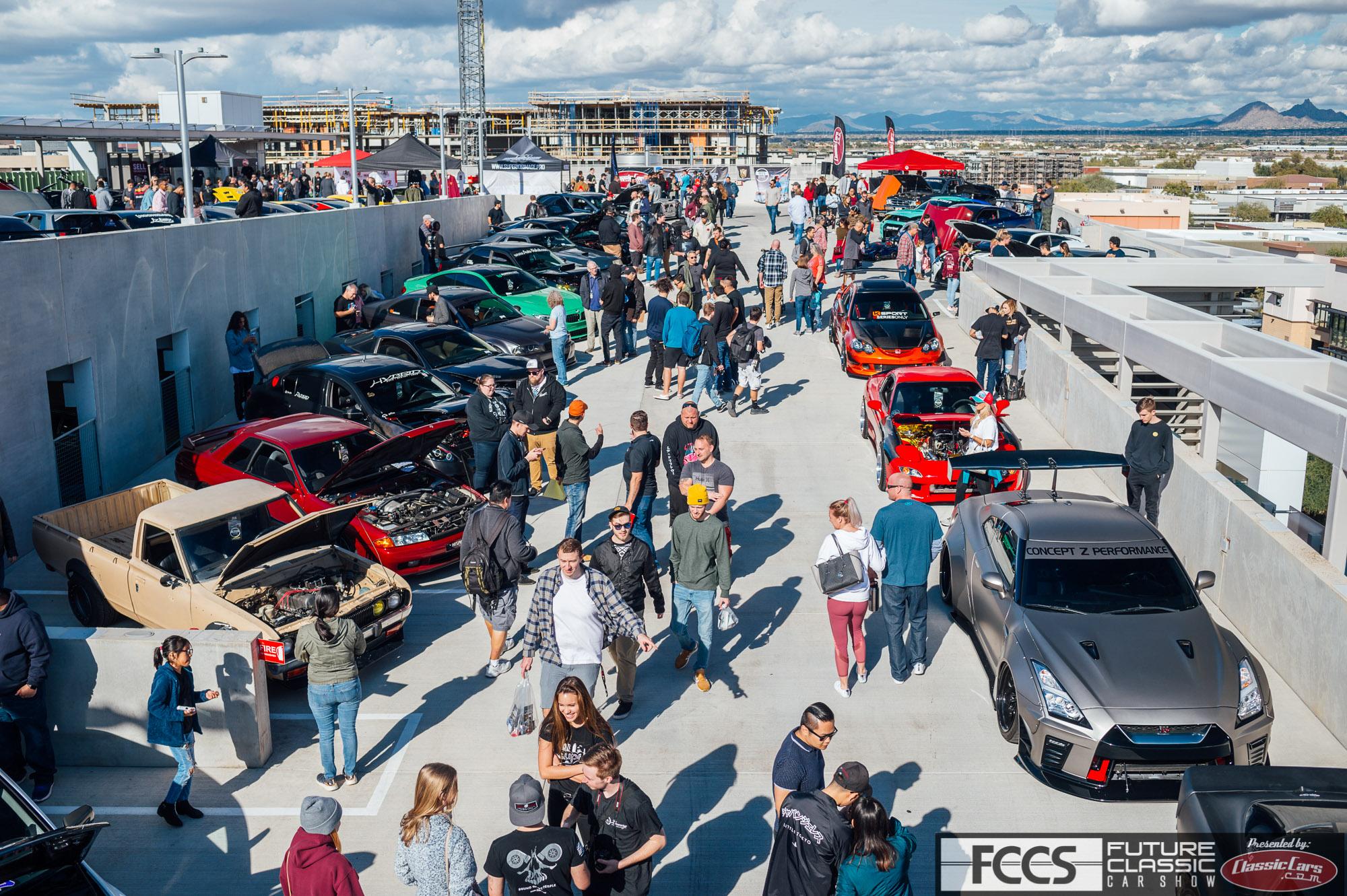 Future Classic Car Show crowd