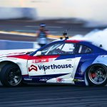 James Deane putting his Falken tires to use