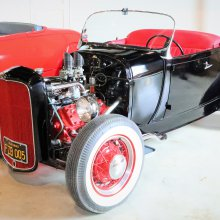 Early hot rod driven by Elvis Presley in '57 film to be auctioned
