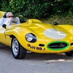 Jaguar D-type replica arrives at Beaulieu's Simply Jaguar