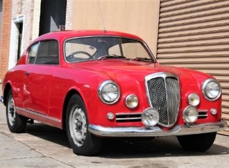 Elegant 1957 Lancia Aurelia B20 is sporty Italian masterpiece