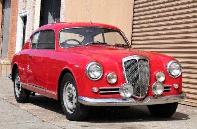 Elegant 1957 Lancia Aurelia B20 is sporty Italian masterpiece