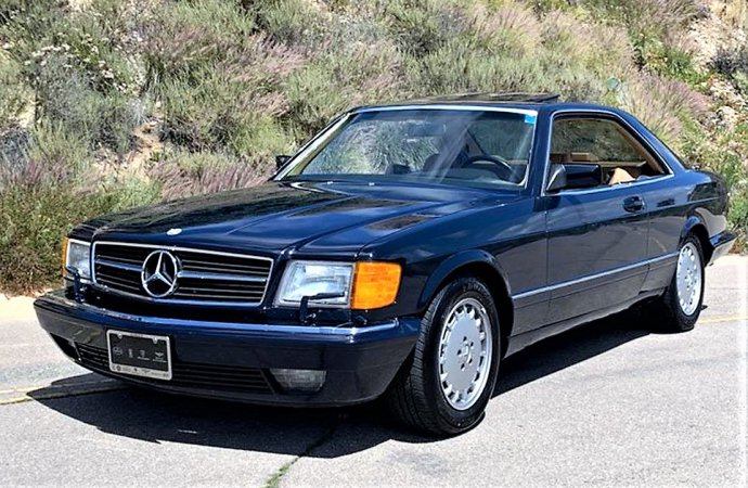 Smooth-sailing Mercedes 560SEC seems like solid future classic