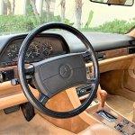 Mercedes 300 sec pick interior