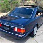Mercedes 300 sec pick rear