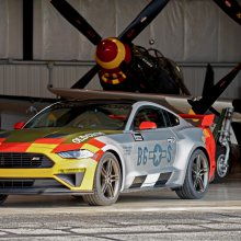 Ford, Roush will auction one-off 'Old Crow' Mustang