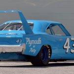 PA19_1970 Plymouth Superbird Richard Petty NASCAR_S96_Rear