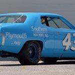 PA19_1971 Plymouth Road Runner Richard Petty NASCAR_S100_Rear
