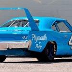 Petty Plymouth Superbird Mecum rear