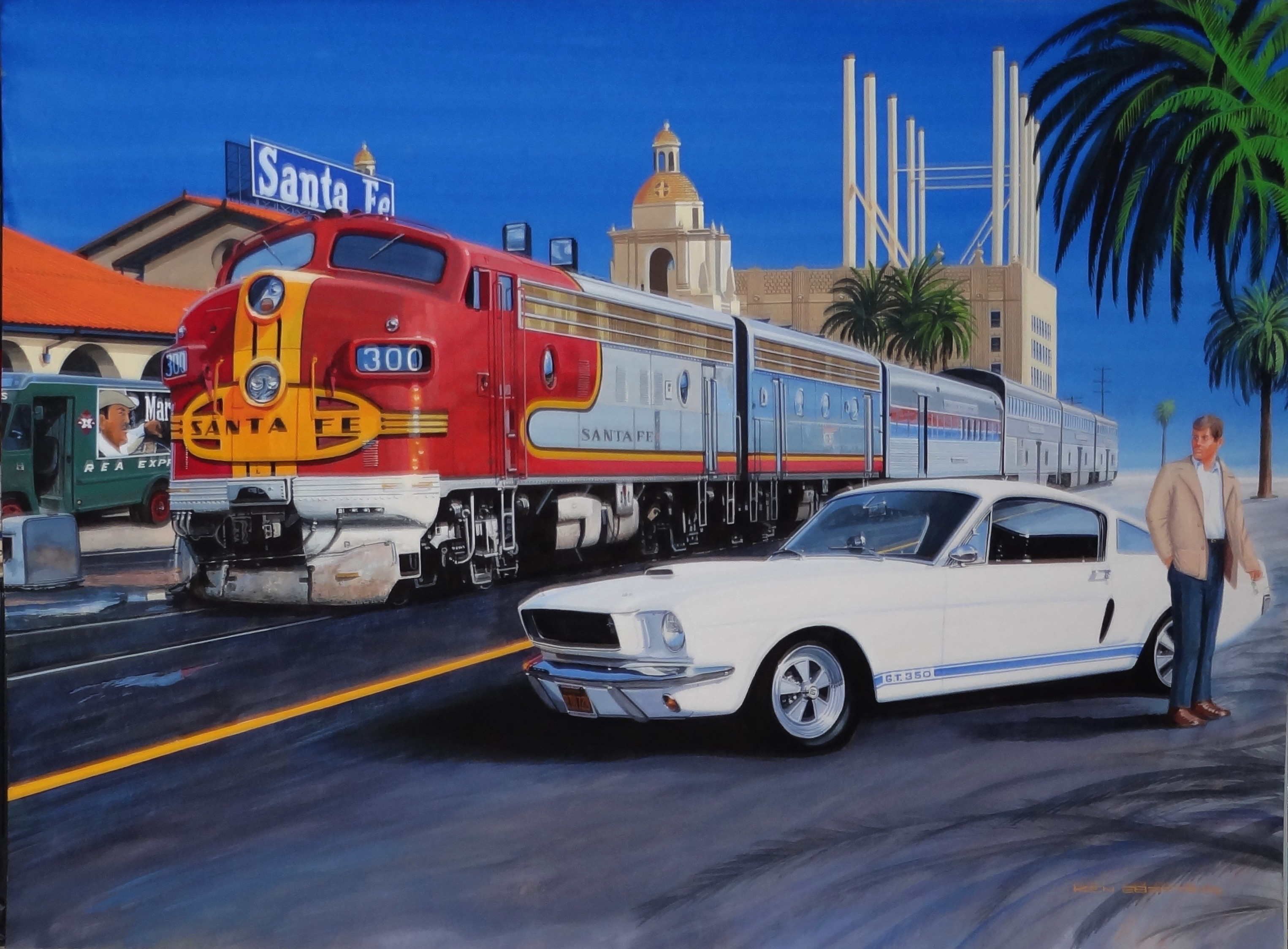 Automotive artists moving from Pebble Beach to gallery in Carmel