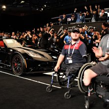 Corvette C7 charity sale lifts Barrett-Jackson northeast auction
