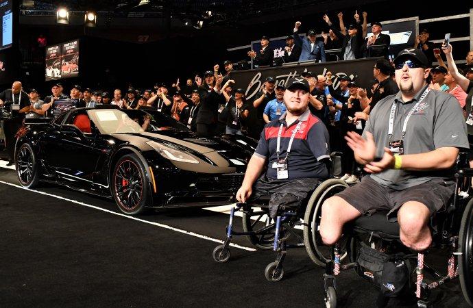 Corvette C7 charity sale lifts Barrett-Jackson northeast auction