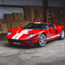 Sotheby's offers 11-mile Ford GT in online auction