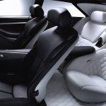 Infiniti concept car interior