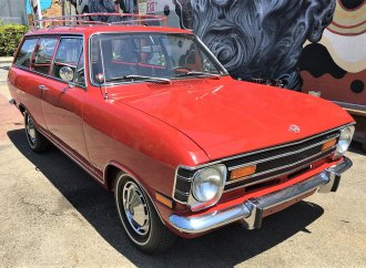 1968 Opel Kadett wagon in rare, totally restored condition