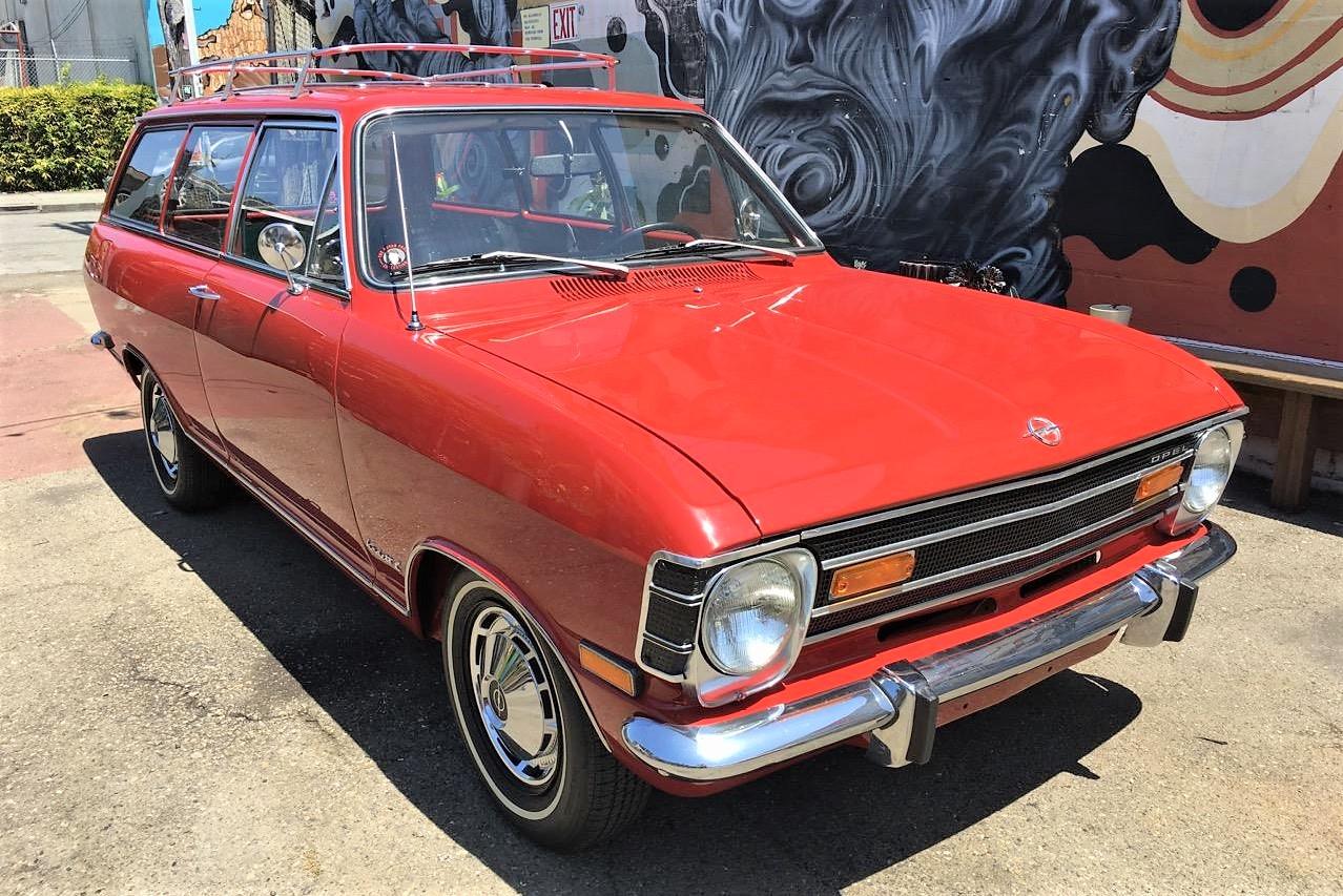 1968 Opel Kadett wagon in rare, totally restored condition