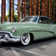 This 1952 Buick Super Riviera 'presents' itself very nicely