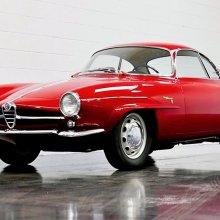 Rare coachbuilt 1961 Alfa Romeo Giulietta Sprint Speciale coupe