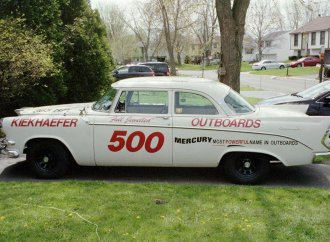 This 1956 Dodge is a tribute to Kiekhaefer team and driver 'Rebel' Mundy