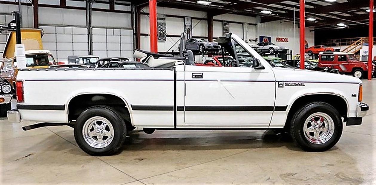 rare for a reason 1990 dodge dakota convertible pickup truck 1990 dodge dakota convertible pickup truck