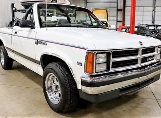 Rare for a reason, 1990 Dodge Dakota convertible pickup truck