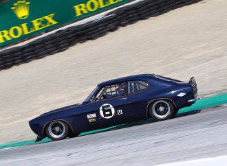 This '73 Ford Capri is ready for vintage racing