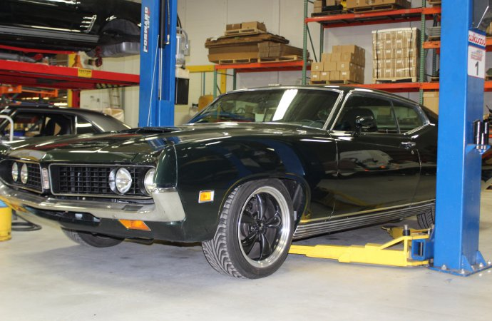 Torino gets some love, and new suspension components