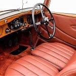 1934 Bentley Derby drophead coupe interior