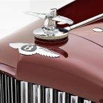 1934 Bentley Derby drophead coupe nose