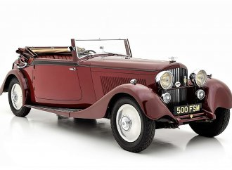 Elegant 1934 Derby Bentley helps celebrate marque centennial
