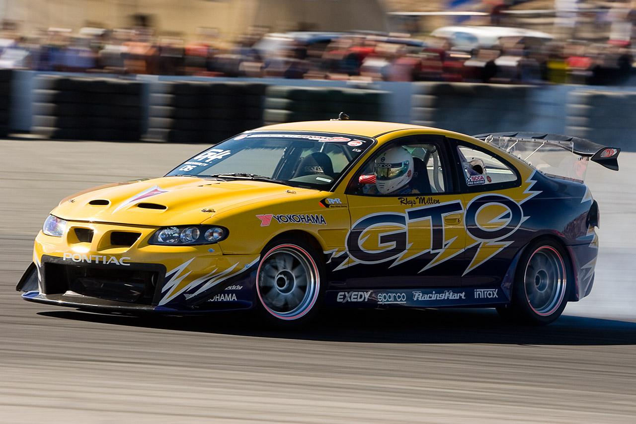 Rhys Millen 2005 Formula Drift championship winning Pontiac GTO | John Chennavasin photo