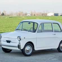 Italian job: Restored and micro-sized Autobianchi Bianchina