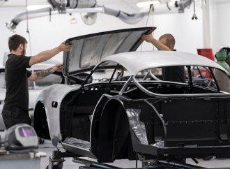 Aston Martin shows work progressing on DB4 GT Zagato 'Continuation' cars